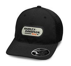 b4fb02a5636 H-D Racing Patch Trucker Cap