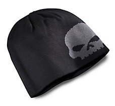 Oversized Skull Knit Hat