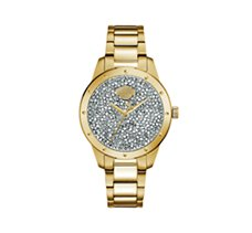 Bar & Shield Crystal Watch