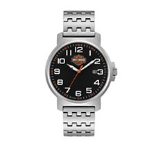 H-D Bar & Shield Numerals Watch