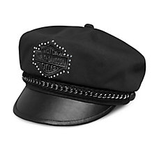 Chain Accent Biker Cap