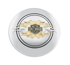 Flames Fuel Cap Medallion