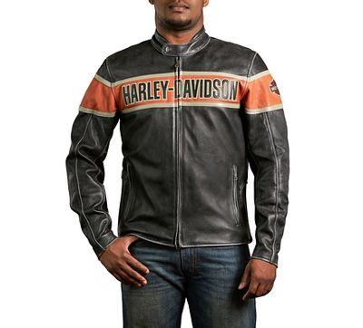 Victory Lane Leather Jacket