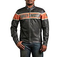 's Victory Lane Leather Jacket - 9805713VM | Harley-Davidson USA